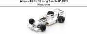 ◎予約品◎ Arrows A6 No.30 Long Beach GP 1983 Alan Jones