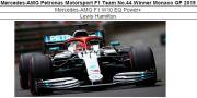 ◎予約品◎ Mercedes-AMG Petronas Motorsport F1 Team No.44 Winner Monaco GP 2019  W10 EQ Power+ L.ハミルトン
