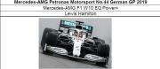 ◎予約品◎ Mercedes-AMG Petronas Motorsport No.44 German GP 2019  W10 EQ Power+ L.ハミルトン
