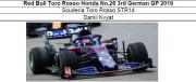 ◎予約品◎ Red Bull Toro Rosso Honda No.26 3rd German GP 2019 STR14 D.クビアト