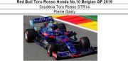 ◎予約品◎Red Bull Toro Rosso Honda No.10 Belgian GP 2019    STR14 P.ガスリー