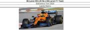 ◎予約品◎ McLaren MCL35 No.4  Barcelona Test 2020   L.ノリス
