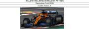 ◎予約品◎ McLaren MCL35 No.55  Barcelona Test 2020   C.サインツ Jr.