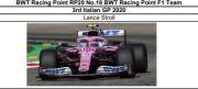 ◎予約品◎ BWT Racing Point RP20 No.18  3rd Italian GP 2020  Lance Stroll
