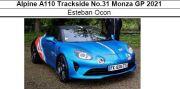 ◎予約品◎ Alpine A110 Trackside No.31 Monza GP 2021 E.オコン