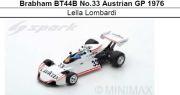 ◎予約品◎ Brabham BT44B No.33 Austrian GP 1976  Lella Lombardi