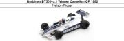 ◎予約品◎ Brabham BT50 No.1 Winner Canadian GP 1982  Nelson Piquet
