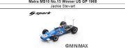 ◎予約品◎ Matra MS10 No.15 Winner US GP 1968 Jackie Stewart