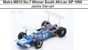 ◎予約品◎ Matra MS10 No.7 Winner South African GP 1969  Jackie Stewart