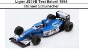 ◎予約品◎ Ligier JS39B Test Estoril 1994  Michael Schumacher