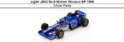 ◎予約品◎ Ligier JS43 No.9 Winner Monaco GP 1996  Olivier Panis