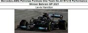 ◎予約品◎ 1/18Mercedes-AMG Petronas Formula One Team No.44 W12 E Performance Winner Bahrain GP 2021   L.ハミルトン