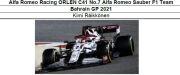 ◎予約品◎ 1/18Alfa Romeo Racing ORLEN C41 No.7 Alfa Romeo Sauber F1 Team Bahrain GP 2021   K.ライコネン