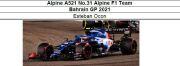 ◎予約品◎ 1/18Alpine A521 No.31 Alpine F1 Team Bahrain GP 2021   E.オコン
