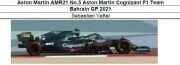 ◎予約品◎ 1/18Aston Martin AMR21 No.5 Aston Martin Cognizant F1 Team Bahrain GP 2021   S.ベッテル