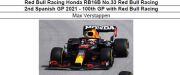 ◎予約品◎ Red Bull Racing Honda RB16B No.33 Red Bull Racing 2nd Spanish GP 2021 - 100th GP with Red Bull Racing M.フェルスタッフェン