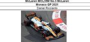 ◎予約品◎ McLaren MCL35M No.3 McLaren Monaco GP 2021 D.リカルド
