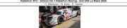 ◎予約品◎ Rebellion R13 - Gibson No.1 Rebellion Racing - 2nd 24H Le Mans 2020  G. Menezes - N. Nato - B. Senna