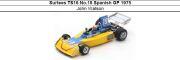 ◎予約品◎ Surtees TS16 No.18 Spanish GP 1975  John Watson