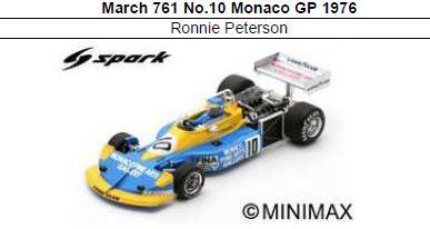 ◎予約品◎ March 761 No.10 Monaco GP 1976 Ronnie Peterson