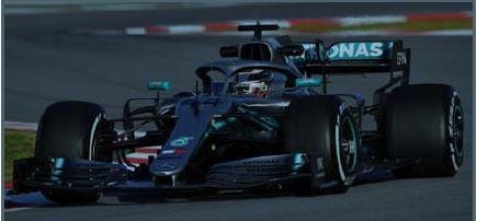 ◎予約品◎ Mercedes-AMG Petronas Motorsport F1 Team No.44 TBC 2019 W10 EQ Power+   L.ハミルトン