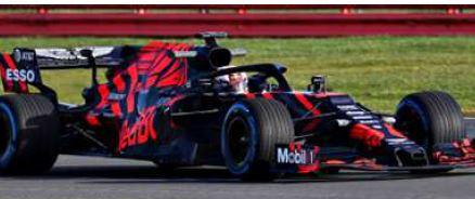 ◎予約品◎ Aston Martin Red Bull Racing F1 Team Test Car Silverstone Circuit 2019 RB15   M.フェルスタッペン