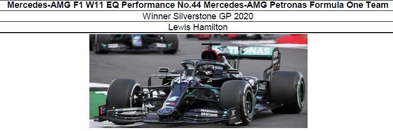 ◎予約品◎  Mercedes-AMG F1 W11 EQ Performance No.44 Mercedes-AMG Petronas Formula One Team Winner Silverstone GP 2020  L.ハミルトン