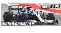 ◎予約品◎1/18 メルセデス AMG ペトロナス モータースポーツ F1 W10 EQ パワー+   ルイス・ハミルトン USA GP 2019 ワールドチャンピオン