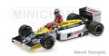 ◆1/18 ウィリアムズ ホンダ FW11 ケケ・ロズベルグ ドイツGP 1986 ライド オン ネルソン・ピケ  フィギュア付