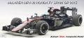 ◆1/18 マクラーレン MP4-30 ホンダ F1 スペインGP 2015 #14  F.アロンソ (ドライバーフィギュア付き)