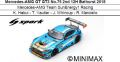 ◎予約品◎1/18 Mercedes-AMG GT GT3 No.75 2nd 12H Bathurst 2018 Mercedes-AMG Team SunEnergy1 Racing K. Habul - T. Vautier - J. Whincup - R. Marciello