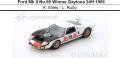 ◎予約品◎1/18 Ford Mk II No.98 Winner Daytona 24H 1966  K. Miles - L. Ruby