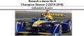 ◎予約品◎ 1/18 Renault e.dams No.9  Champion Season 2 (2015-2016) Sebastien Buemi