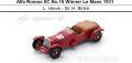 ◎予約品◎1/18 Alfa Romeo 8C No.16 Winner Le Mans 1931   L. Howe - Sir H. Birkin
