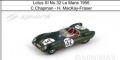◆4週間程で入荷◆1/18 Lotus XI No.32 Le Mans 1956  C.Chapman - H. MacKay-Fraser