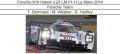 ◎予約品◎Porsche 919 Hybrid n.20 LM P1-H Le Mans 2014 T. Bernhard - M. Webber - B. Hartley
