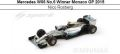 ◆4週間程で入荷◆1/18 Mercedes W06 No.6 Winner Monaco GP 2015   Nico Rosberg