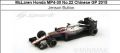 ◆4週間程で入荷◆1/18 McLaren Honda MP4-30 No.22 Chinese GP 2015   Jenson Button