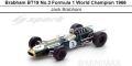 ◎予約品◎1/18 Brabham BT19 No.3 Formula 1 World Champion 1966   Jack Brabham