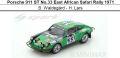 ◎予約品◎1/18 Porsche 911 ST No.33 East African Safari Rally 1971  B. Waldegard - H. Lars
