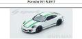 ◎予約品◎1/18 Porsche 911 R 2017