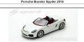 ◎予約品◎1/18 Porsche Boxster Spyder 2016