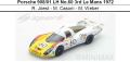 ◎予約品◎1/18 Porsche 908/01 LH No.60 3rd Le Mans 1972  R. Joest - M. Casoni - M. Weber