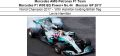 ◎予約品◎ 1/18 Mercedes AMG Petronas F1 Team Mercedes F1 W08 EQ Power+ No.44  Mexican GP 2017 World Champion 2017 - With Hamilton holding British flag Lewis Hamilton