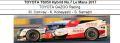 ◎予約品◎1/18 TOYOTA TS050 Hybrid No.7 Le Mans 2017  TOYOTA GAZOO Racing  M. Conway - 小林可夢偉 - S. Sarrazin