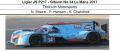 ◎予約品◎1/18 Ligier JS P217 - Gibson No.34 Le Mans 2017  Tockwith Motorsports  N. Moore - P. Hanson - K. Chandhok