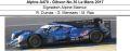 ◎予約品◎1/18 Alpine A470 - Gibson No.36 Le Mans 2017  Signatech Alpine Matmut  R. Dumas - G. Menezes - M. Rao