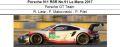 ◎予約品◎1/18 Porsche 911 RSR No.91 Le Mans 2017  Porsche GT Team  R. Lietz - F. Makowiecki - P. Pilet