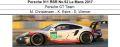◎予約品◎1/18 Porsche 911 RSR No.92 Le Mans 2017  Porsche GT Team  M. Christensen - K. Estre - D. Werner