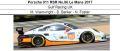 ◎予約品◎1/18 Porsche 911 RSR No.86 Le Mans 2017  Gulf Racing UK M. Wainwright - B. Barker - N. Foster